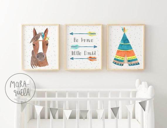 Set Caballo Colores / Colorful Horse Set