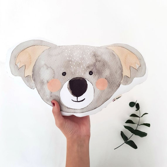 Cojín ilustrado Koala MARTÍN / Martín koala cushion for newborns