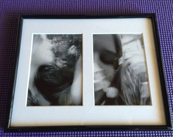 When I Reach For You - framed double print by Tilley