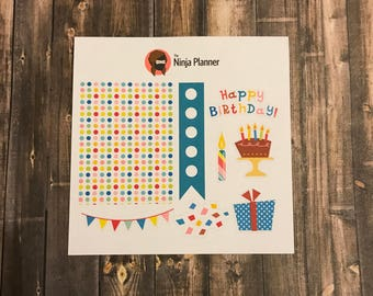 Decorate A Day Collection: Birthday