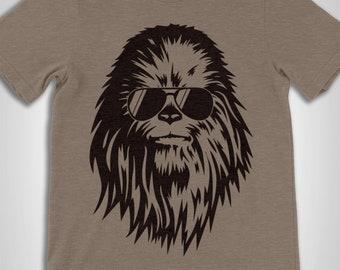 Star Wars Chewie Shadow T-Shirt Uomo