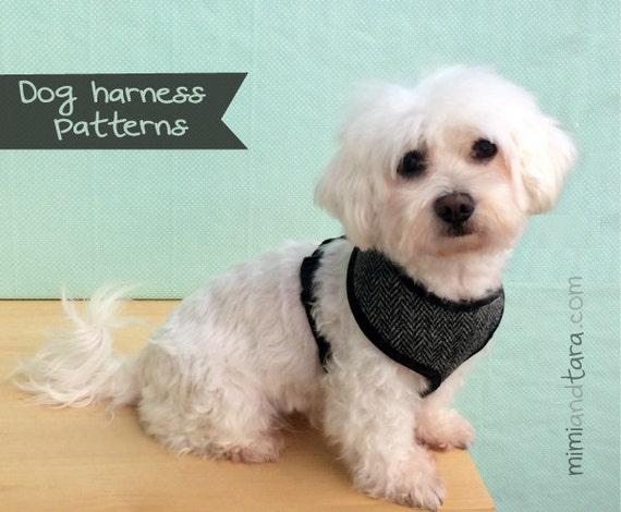 Dog Harness Pattern Size S Vest Harness Dog Vest Sewing