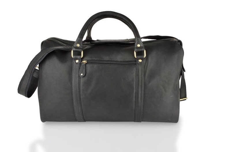 0 Black Medium Size Travel Woodland 20 Leather Holdall fvYgb6y7