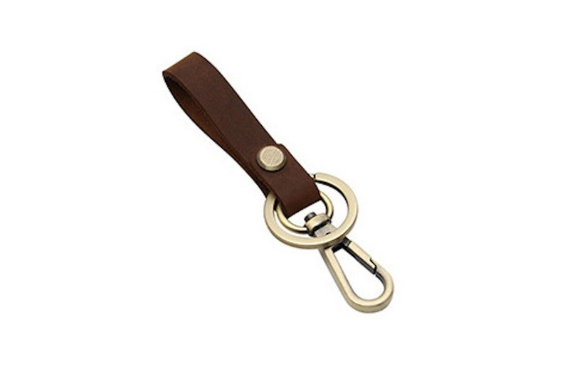 Modern Small Leather 5 Key Chain Accessory