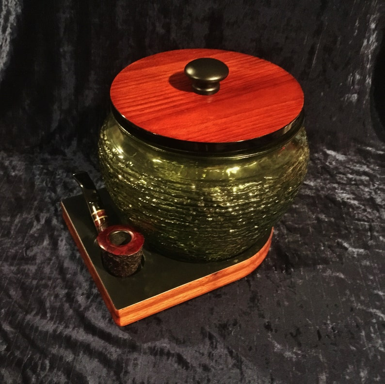 Worlds Largest Mid Century Green Beehive Cigar And Tobacco Humidor