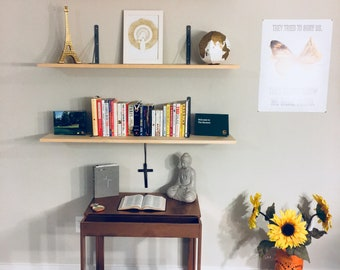 Three bookshelves (instructions included)