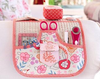 Smart Sofa Station Multi Pocket Armchair Craft Sewing Stitching Organizer