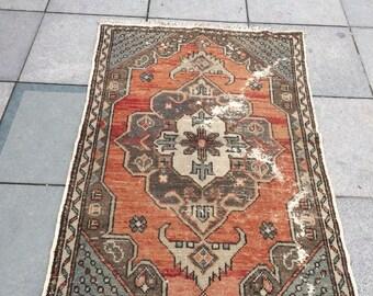 Carpet Rug, Carpet Runner, 175x114cm/5u002774u0027u0027x 3u002764u0027u0027 Area Rug,handmade Carpet,  Turkish Carpet, Turkish Runner, Bathroom Rug, Kitchen Rug