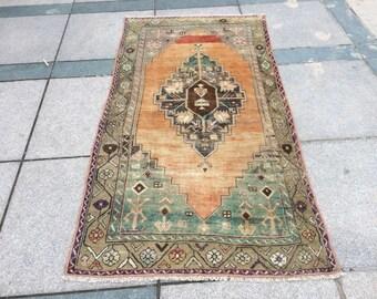 Overdyed rug, Turkish rug, Vintage, Oushak Rug, Moroccan Rug, Carpet, Persian Rug, Rugs, Area Rug,  Area rugs 8x10 ,Boho Rug,6.06x3.14feet