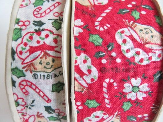Ruban Vintage Fraisinette, Offray Noël vacances ruban en tissu, Lot de de Lot 6 rouleaux 7cd578