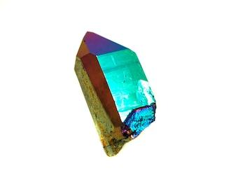 Flame Aura Quartz/Aurora Quartz Point