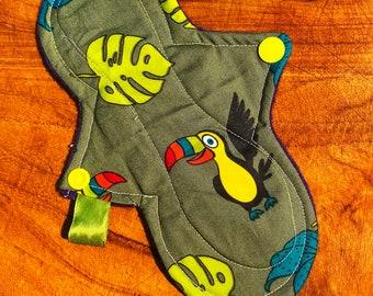 affordable cloth pad, UK cloth pad, cotton panty liners,  reusable pantyliner, menstrual pads uk, reusable period pad, washable sanitary pad