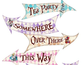Alice In Wonderland Party Etsy