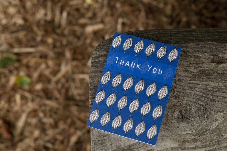 Thank You Blank Greeting Card image 0
