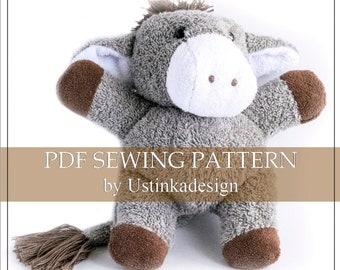 Stuffed Toy Pattern Plushie Pattern Pdf Pattern Soft Toy Etsy