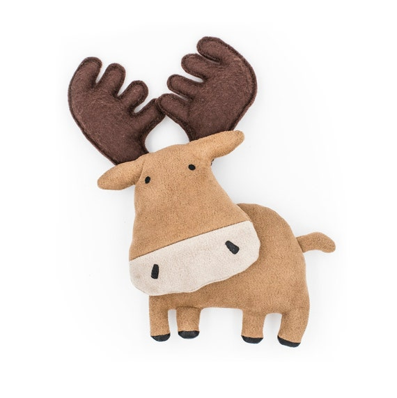 image relating to Moose Template Printable called Moose Habit template Down load crammed plushes Do-it-yourself House Components Holiday seasons present Woodland Animal toy PDF Electronic guide Xmas suggestions