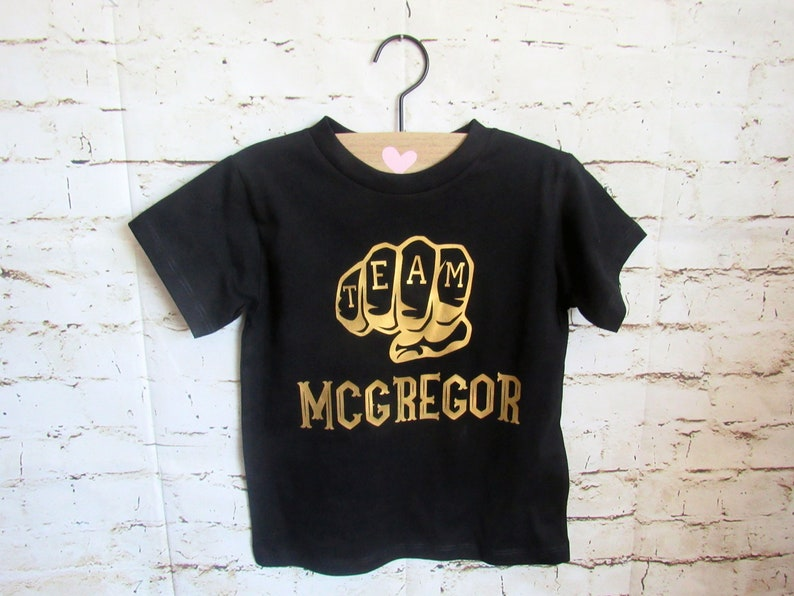 47d91ee3acf Team McGregor  The Notorious  Conor McGregor toddler shirt