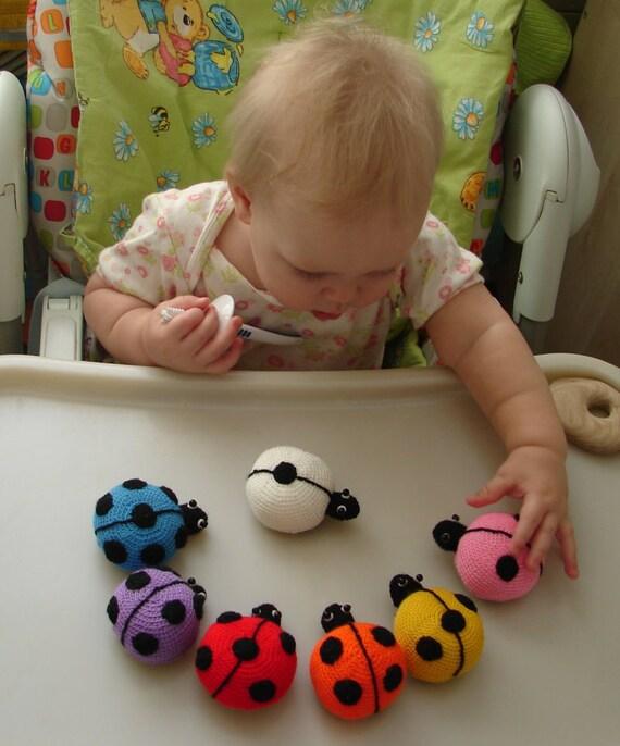 Kitchen Magnet Ladybugs Montessori Magnet Toys Child Fridge Etsy