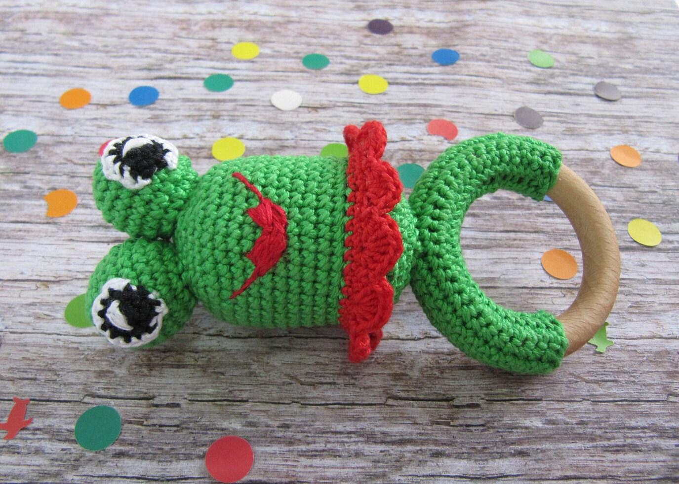 Frosch Rassel Baumwolle Spielzeug Baby Geschenk Eco Baby Etsy