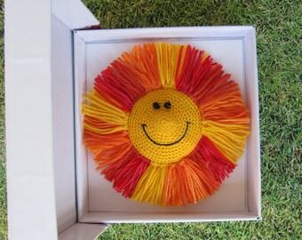 Fridge magnet Sun cheer up gift