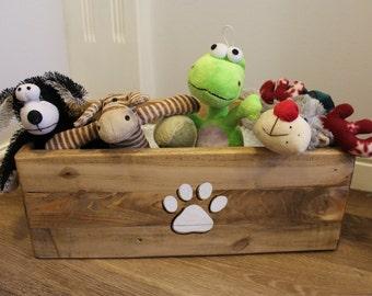 Dog Toy Box Etsy