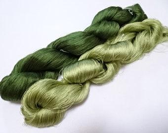 Japanese vintage silk thread embroidery 4214