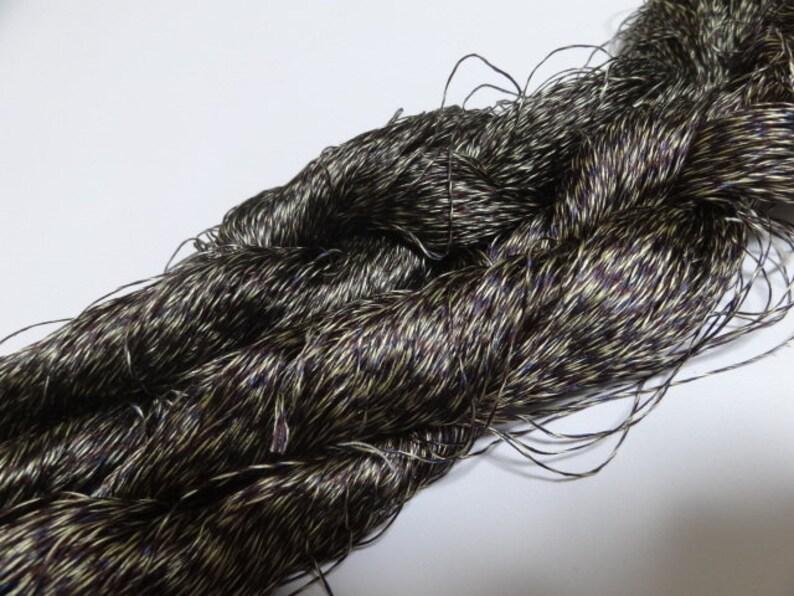Japanese vintage super rare silk thread embroidery Weaving 1120