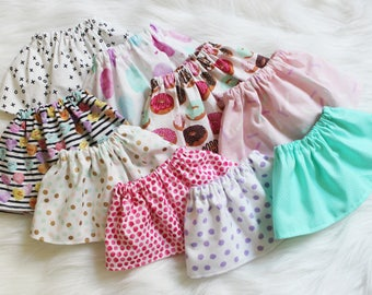Sweet Treats Skirt. You Pick Style and Design Your Own Plushie!