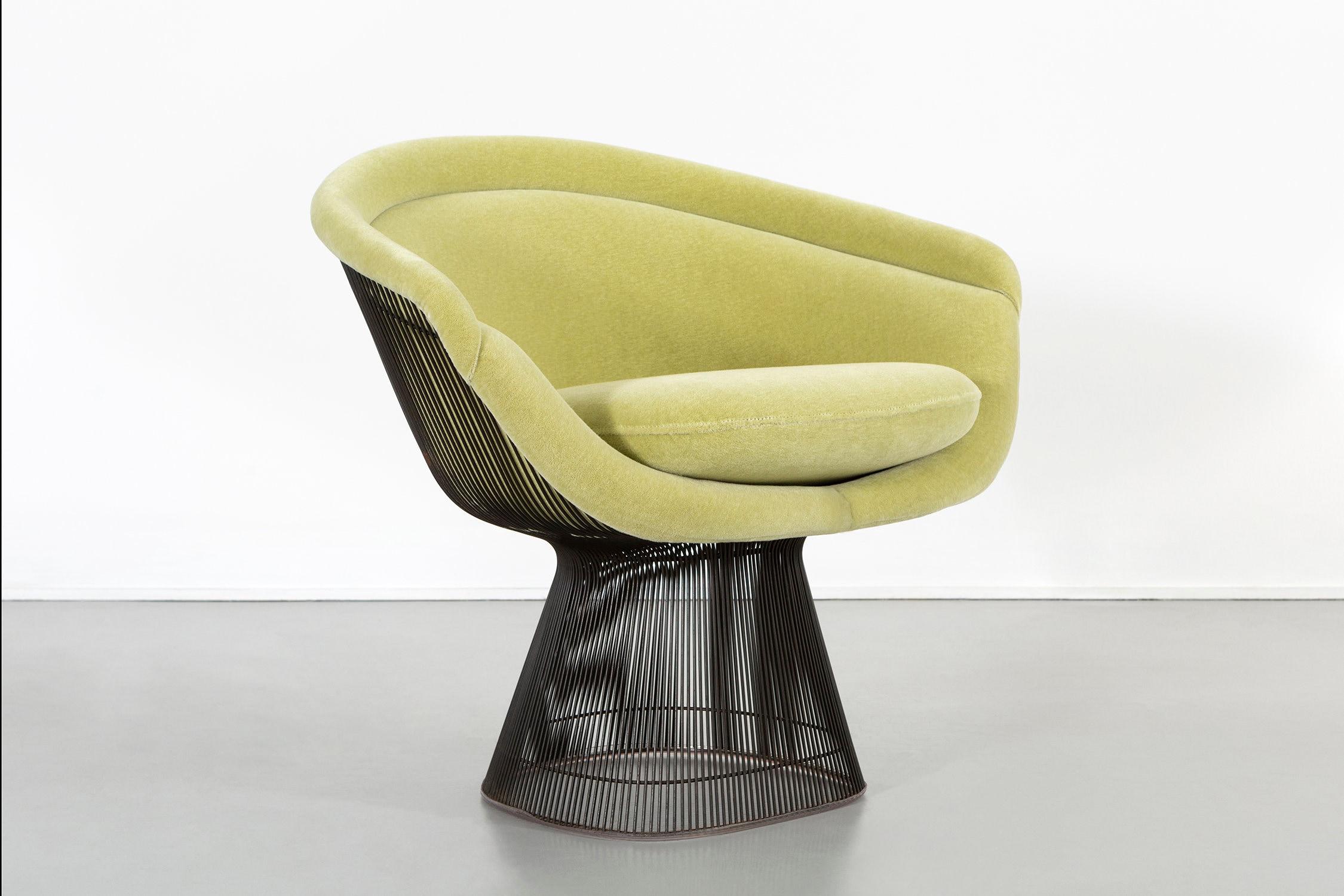 Ensemble de chaises Platner Bronze moderne du milieu du siècle pour Knoll