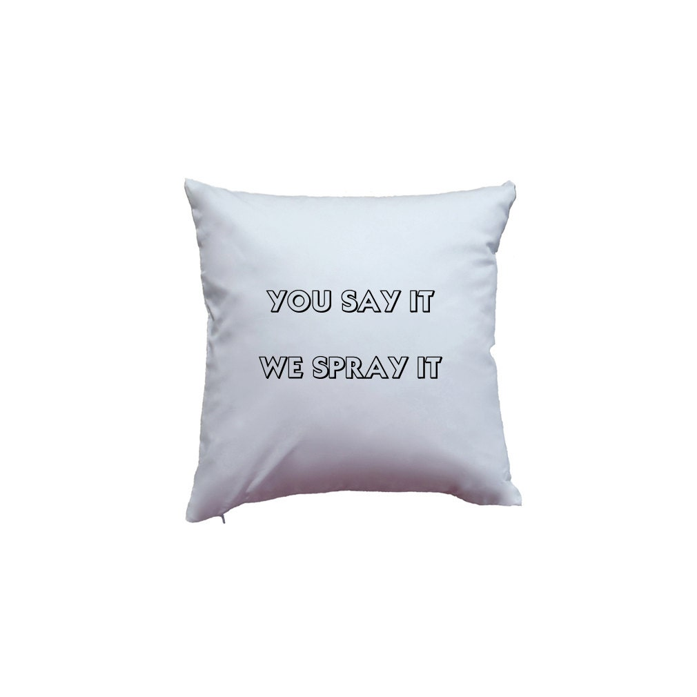 create your own custom text words home decor pillow cover etsy. Black Bedroom Furniture Sets. Home Design Ideas
