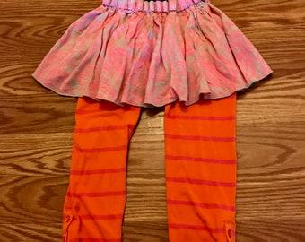 Flowy ruffle leggings
