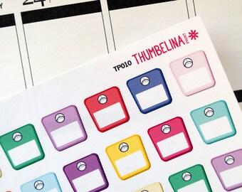 Scale planner stickers for Erin Condren, Plum Paper Planner, Filofax, Kikki K and more (TP010)