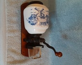 Coffee Grinder - Delft Coffee Grinder - Wall Mount Coffee Grinder