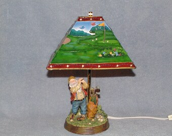 Accent Lamp - Golf Theme