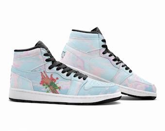 BLUE CLOUDS | Sneakers - custom sneakers - aesthetic sneakers - clouds design shoes - blue sneakers