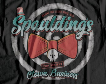 Clown Business - Captain Spaulding horror t shirt / The Devil's Rejects gift / Rob Zombie fan / 3 From Hell / Tutti Frutti