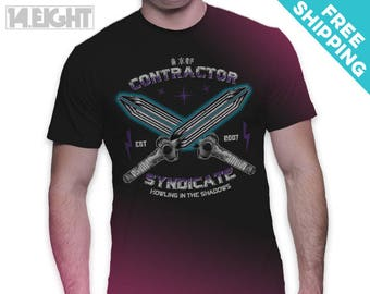 The Syndicate - Darker Than Black Anime T-Shirt