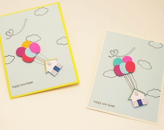 New Home Card, Congratulations on your New Home, Housewarming Card, Welcome to your New Home