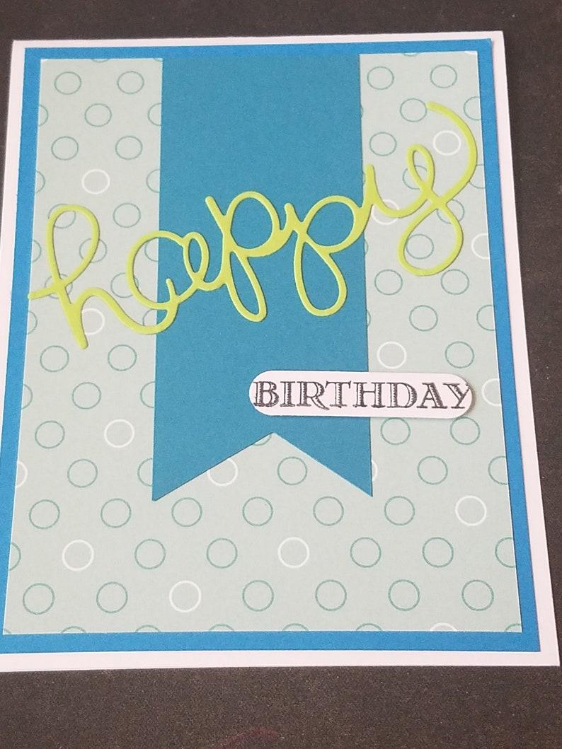 Birthday Boy Cards Homemade Card Happy