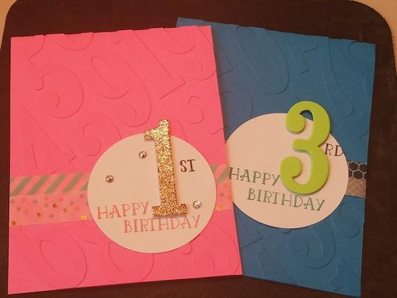 Birthday Card Homemade Girl