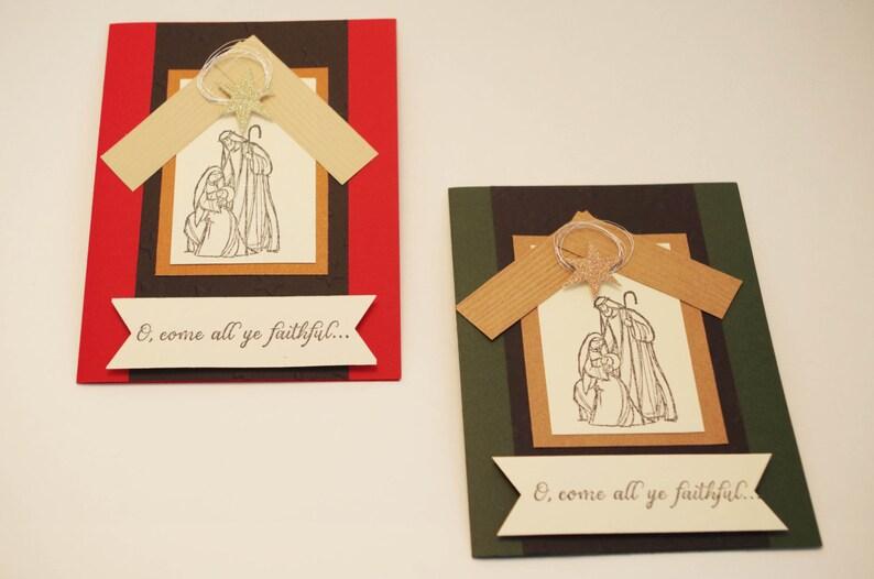 Religiöse Weihnachtskarten.Weihnachtskarte Religiöse Weihnachtskarten Weihnachten Wünscht Weihnachtskarte Grüße Weihnachtskarten Krippe Inn Paket Von 10