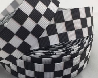 Checkered Ribbon Etsy
