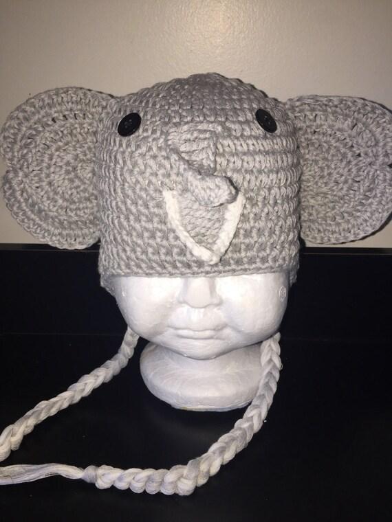 Elefant häkeln Hut stricken Elefant Hut Mütze Hut Elefant   Etsy