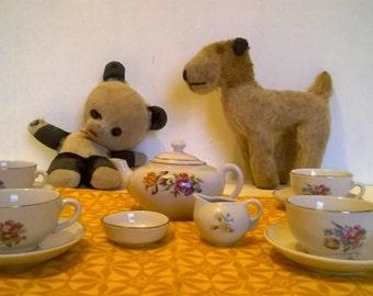 Child's china tea set