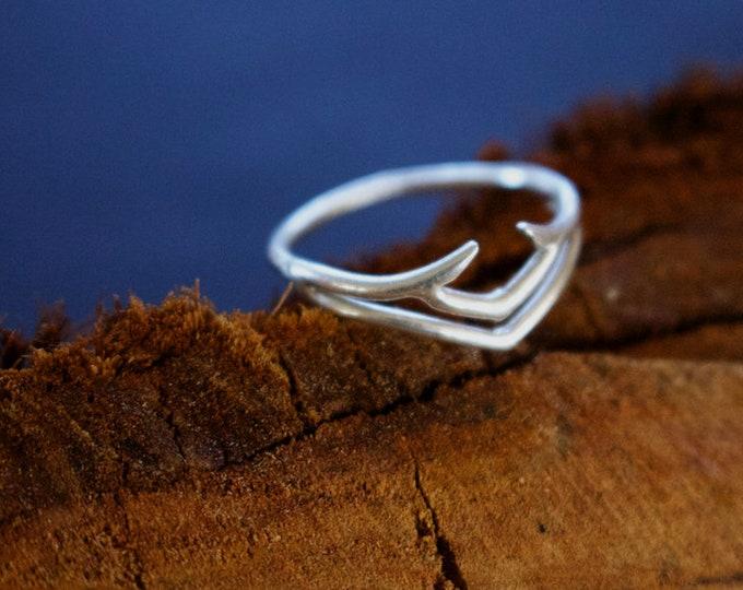 Warrior Princess Stack Ring Riverside