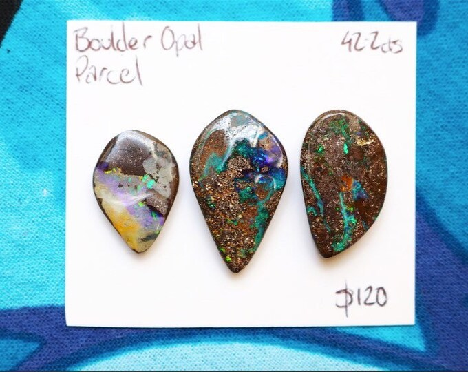 Australian Boulder Opal Parcel