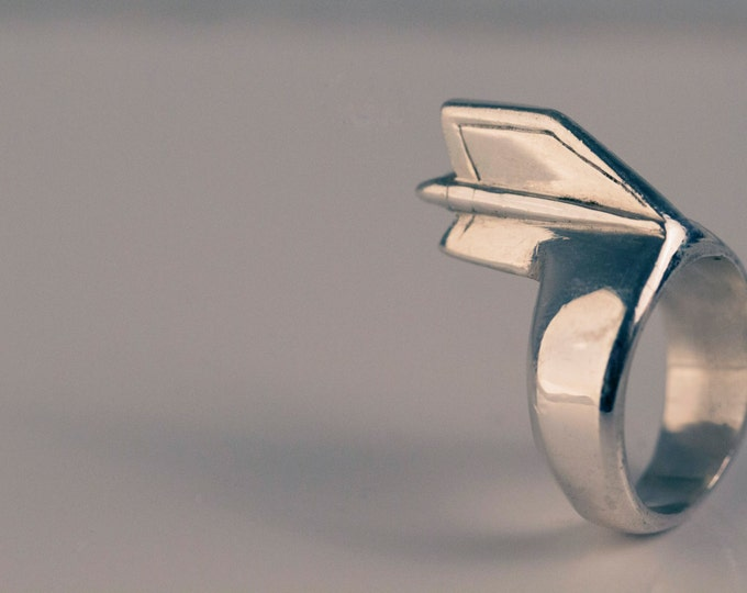 59' Cadillac Coupe Deville unisex ring.