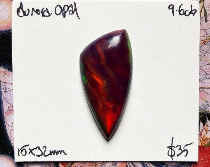 Freeform Aurora Opal Cabochon