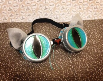 ae0224c7a7c Burner Festival Goggles Cheshire Cat Goggles