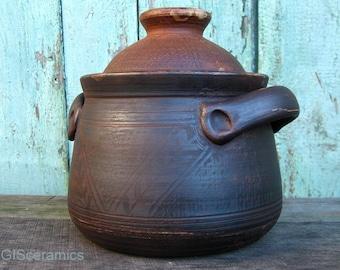 unglazed pottery etsy